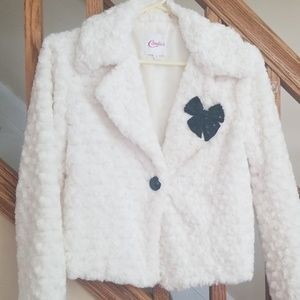 Candie's junior girls soft furry jacket